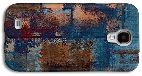 Modern Abstract Galaxy S4 Cases - Industrial Abstract - 15t03 Galaxy S4 Case by Variance Collections