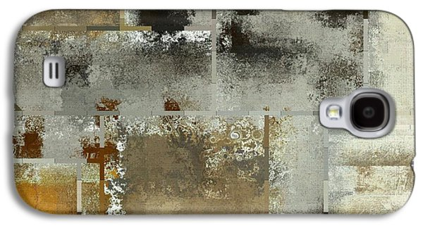 Modern Abstract Galaxy S4 Cases - Industrial Abstract - 24t Galaxy S4 Case by Variance Collections