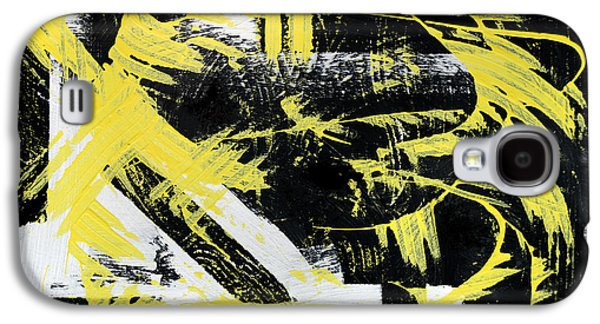 Industrial Abstract Painting I Galaxy S4 Case by Christina Rollo
