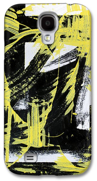 Industrial Abstract Painting II Galaxy S4 Case by Christina Rollo