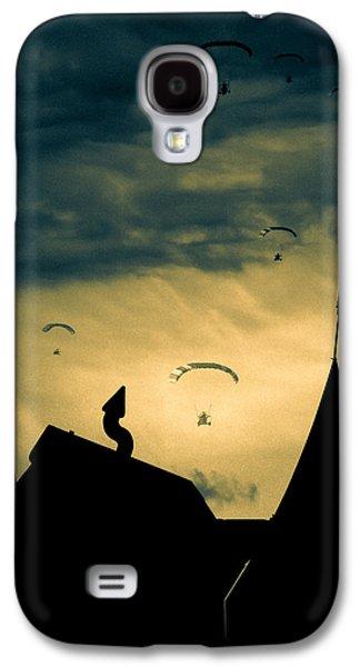 Dreamscape Galaxy S4 Cases - Industrial Carnival Galaxy S4 Case by Bob Orsillo