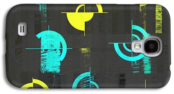 Abstract Digital Galaxy S4 Cases - Industrial Design - s01j021129164a Galaxy S4 Case by Variance Collections