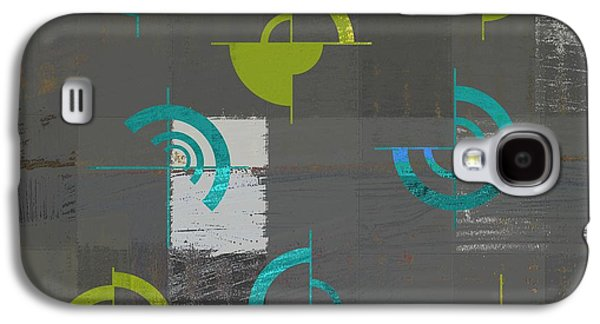 Abstract Digital Galaxy S4 Cases - Industrial Design - s02j088129164a Galaxy S4 Case by Variance Collections