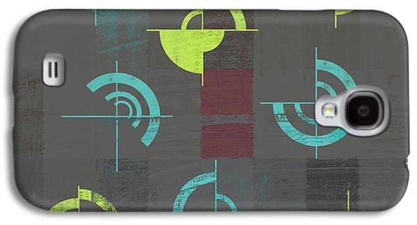 Abstract Digital Galaxy S4 Cases - Industrial Design - s04j052088088e Galaxy S4 Case by Variance Collections