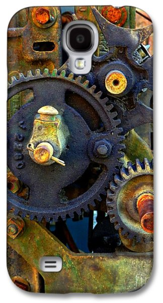 Mechanism Galaxy S4 Cases - Industrial Machinery Galaxy S4 Case by Marcia Lee Jones