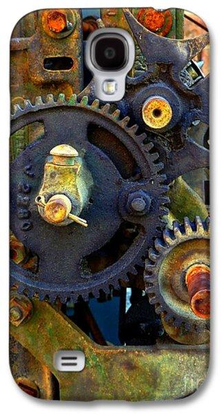 Mechanism Galaxy S4 Cases - Industrial Machinery Galaxy S4 Case by Marcia Lee Jones