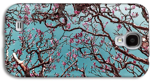 Light Galaxy S4 Cases - Infrared Frangipani Tree Galaxy S4 Case by Stylianos Kleanthous