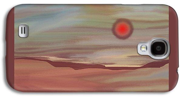 Inner World Galaxy S4 Case by Lenore Senior