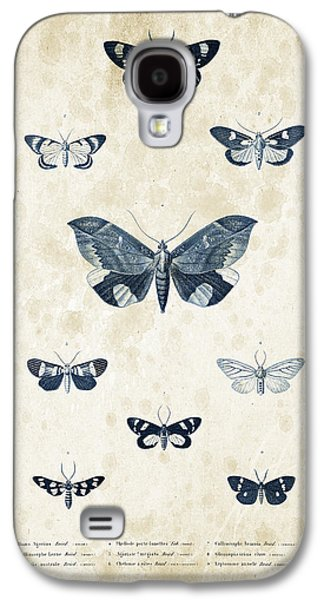 Insects Digital Art Galaxy S4 Cases - Insects - 1832 - 05 Galaxy S4 Case by Aged Pixel