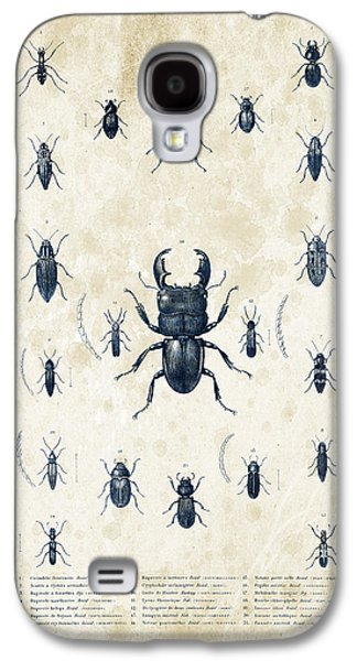 Insects Digital Art Galaxy S4 Cases - Insects - 1832 - 06 Galaxy S4 Case by Aged Pixel