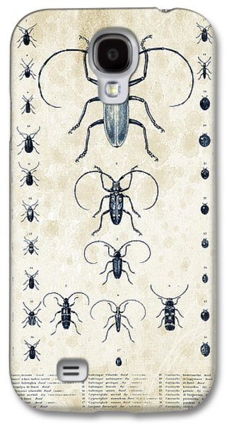 Insects Digital Art Galaxy S4 Cases - Insects - 1832 - 08 Galaxy S4 Case by Aged Pixel