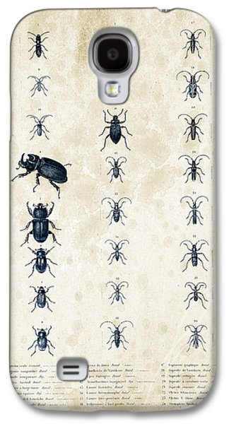 Insects Digital Art Galaxy S4 Cases - Insects - 1832 - 09 Galaxy S4 Case by Aged Pixel