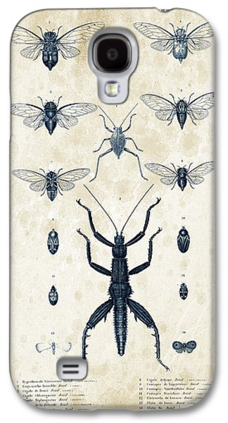 Insects Digital Art Galaxy S4 Cases - Insects - 1832 - 10 Galaxy S4 Case by Aged Pixel