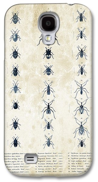Insects Digital Art Galaxy S4 Cases - Insects - 1832 - 11 Galaxy S4 Case by Aged Pixel