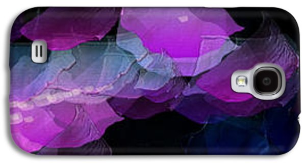 Modern Abstract Galaxy S4 Cases - Inside The Purple Dreams Galaxy S4 Case by Sir Josef  Putsche Social Critic