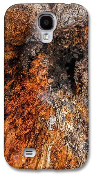 Creepy Galaxy S4 Cases - Insides Galaxy S4 Case by Wim Lanclus