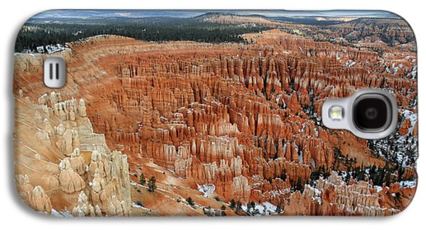 Colum Galaxy S4 Cases - Inspiration point at Bryce Canyon Galaxy S4 Case by Pierre Leclerc Photography