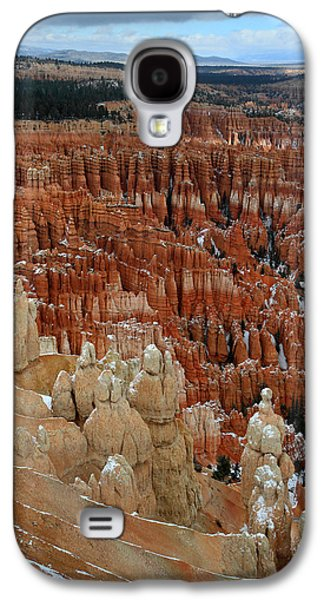 Colum Galaxy S4 Cases - Inspiration point hoodoos Galaxy S4 Case by Pierre Leclerc Photography