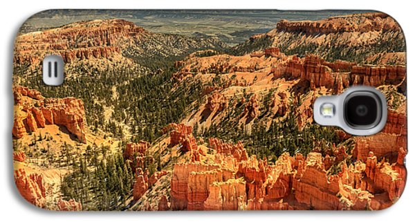 Haybale Galaxy S4 Cases - Inspiration Point Galaxy S4 Case by Robert Bales