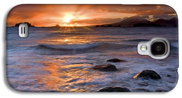 Sunbeams Galaxy S4 Cases - Inspired Light Galaxy S4 Case by Mike  Dawson