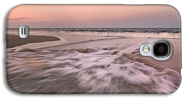 Earth Tones Photographs Galaxy S4 Cases - Inspiring Beach Scenes Galaxy S4 Case by Betsy C  Knapp