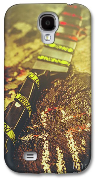 Instrument Of Crime Galaxy S4 Case by Jorgo Photography - Wall Art Gallery