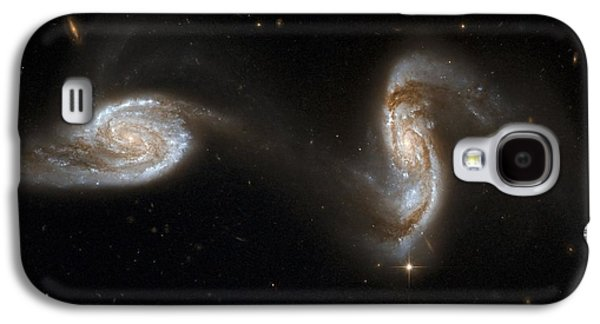 Merging Galaxy S4 Cases - Interacting Galaxies Ngc 5257 And 5258 Galaxy S4 Case by Stsciaurahubble Collaborationa. Evans (university Of Virginia, Charlottesville;nrao;stony Brook University)nasa