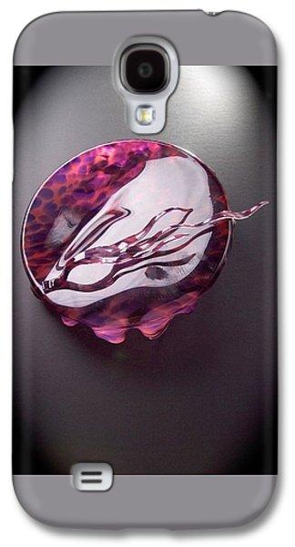 Contemporary Glass Galaxy S4 Cases - Interlude Galaxy S4 Case by Mykel Davis