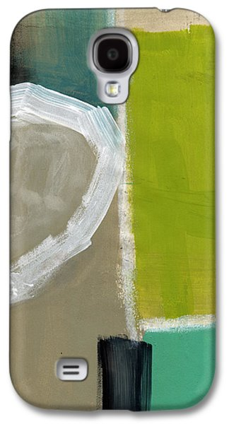Green Modern Galaxy S4 Cases - Intersection 39 Galaxy S4 Case by Linda Woods