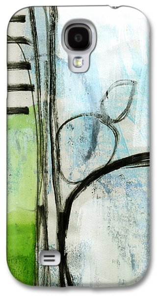 Green Galaxy S4 Cases - Intersections #35 Galaxy S4 Case by Linda Woods