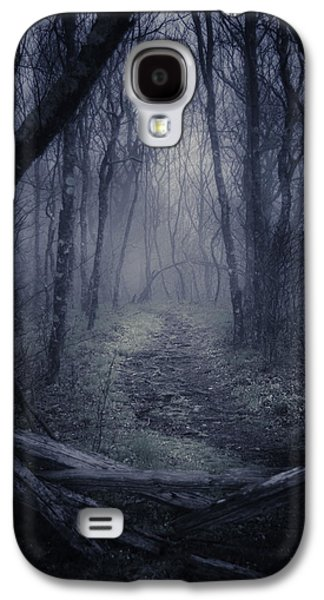 Creepy Galaxy S4 Cases - Into the Blue Ridge Parkway Galaxy S4 Case by Griffey