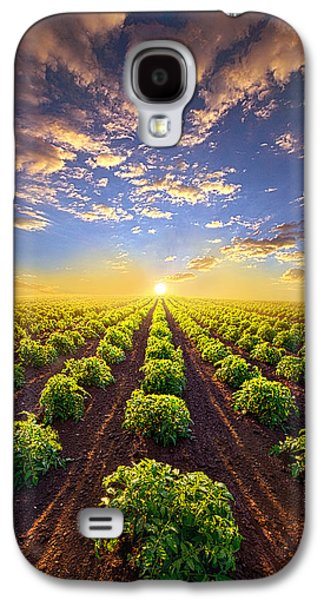 Into The Future Galaxy S4 Case by Phil Koch