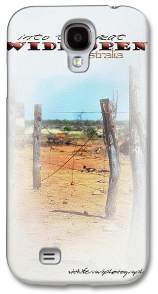 Vicki Ferrari Photography Photographs Galaxy S4 Cases - Into The Great Wide Open Australia 1 Galaxy S4 Case by Vicki Ferrari