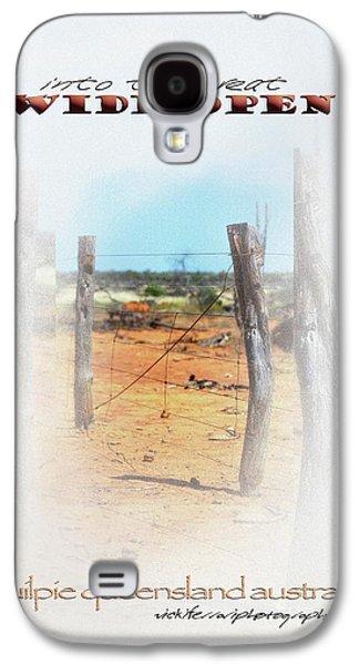 Vicki Ferrari Photography Photographs Galaxy S4 Cases - Into The Great Wide Open Australia 2 Galaxy S4 Case by Vicki Ferrari