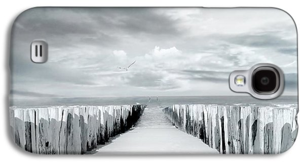 Beach Landscape Galaxy S4 Cases - Inviting Galaxy S4 Case by Photodream Art