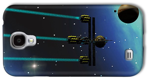 Ion Starliner Galaxy S4 Case by Corey Ford