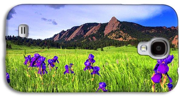 Iris And Flatirons Galaxy S4 Case by Scott Mahon