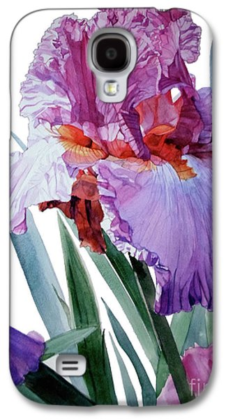 Iris Luciano Pavarotti Galaxy S4 Case by Greta Corens