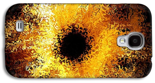Abstract Digital Digital Galaxy S4 Cases - Iris Galaxy S4 Case by Michael Garyet
