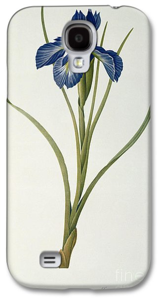 19th Galaxy S4 Cases - Iris Xyphioides Galaxy S4 Case by Pierre Joseph Redoute