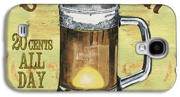 Brew Galaxy S4 Cases - Irish Pub Galaxy S4 Case by Debbie DeWitt