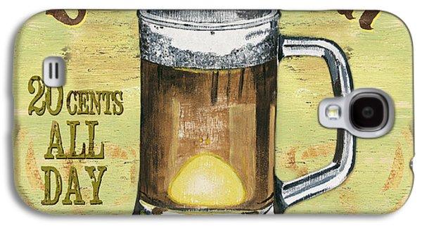 Cold Paintings Galaxy S4 Cases - Irish Pub Galaxy S4 Case by Debbie DeWitt