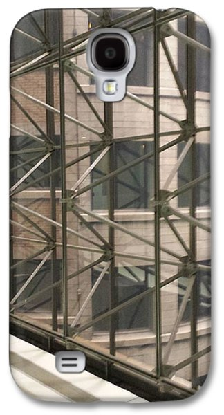 Iron Sculptures Galaxy S4 Cases - Looking Out Galaxy S4 Case by Mea