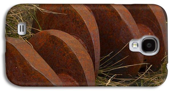 Jennifer Apffel Galaxy S4 Cases - Iron Vertibrae Galaxy S4 Case by Jennifer Apffel
