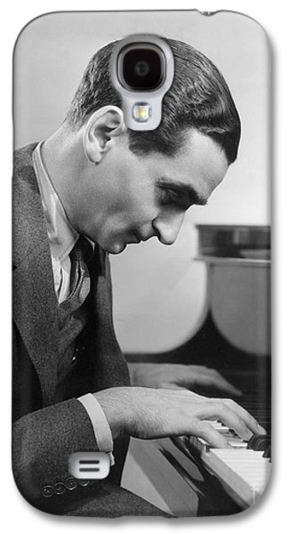 Pianist Photographs Galaxy S4 Cases - Irving Berlin (1888-1989) Galaxy S4 Case by Granger