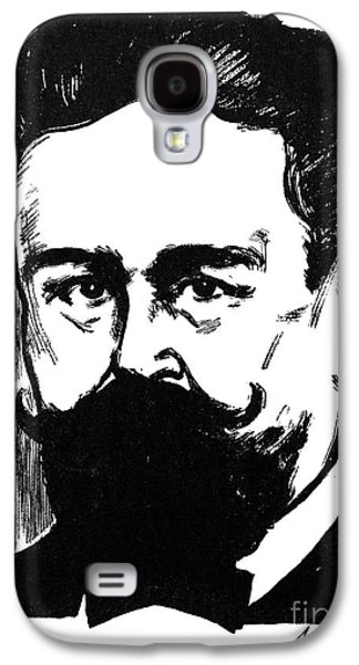 Pianist Photographs Galaxy S4 Cases - Isaac Albeniz (1860-1909) Galaxy S4 Case by Granger