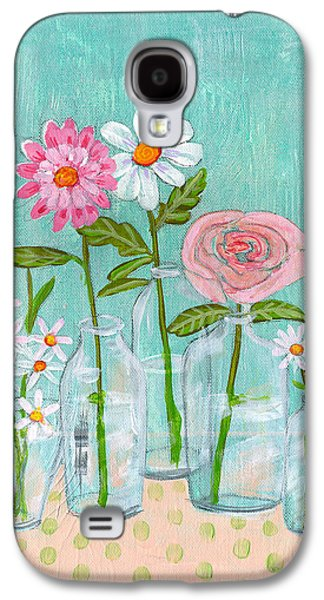 Isabella Rose Flowers Galaxy S4 Case by Blenda Studio