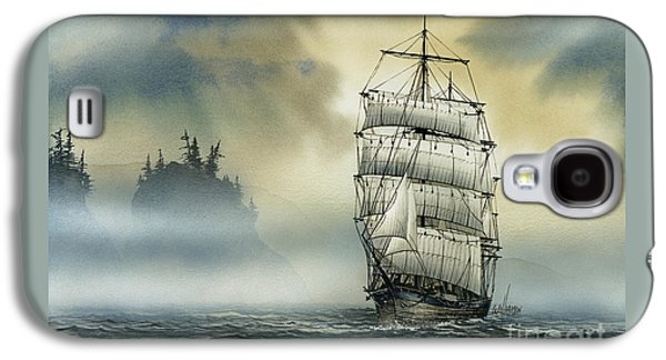 Tall Ships Galaxy S4 Cases - Island Mist Galaxy S4 Case by James Williamson