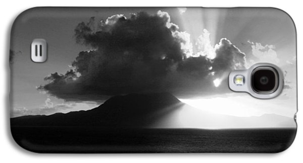 Balck Art Galaxy S4 Cases - Island Sunrise 2  Galaxy S4 Case by Perry Webster