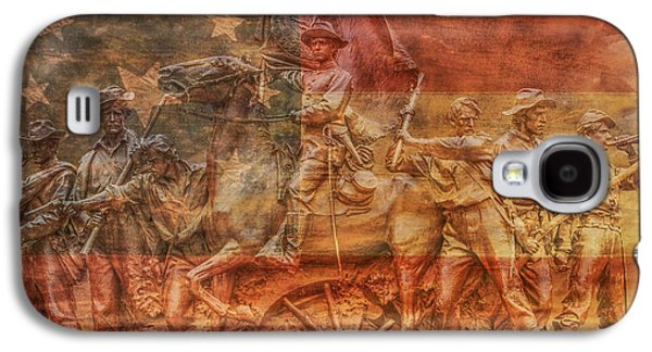 Statue Of Confederate Soldier Galaxy S4 Cases - It is history that teaches us to hope Galaxy S4 Case by Randy Steele